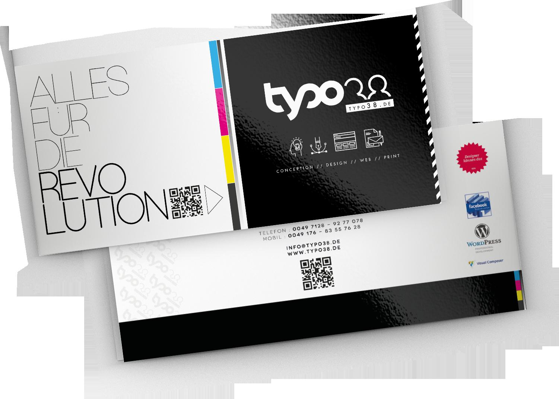 Typo38 Image Broschüre